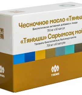 Чесночное масло «Тяньши»